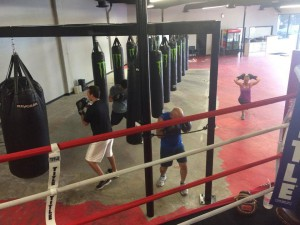adult boxing classes home