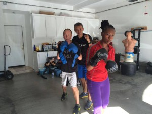 boxing workout Orange County CA