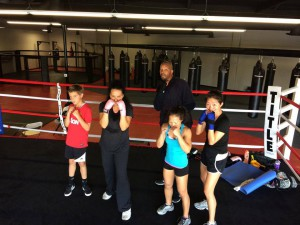 womens boxing classes Orange County CA