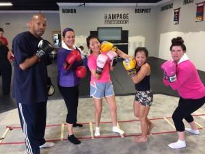 womens boxing Orange County CA