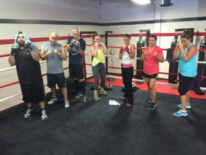 boxing workout Rancho Santa Margarita CA