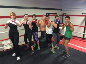 women's boxing classes Lake Forest CA