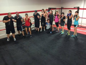 boxing classes Trabuco Canyon CA