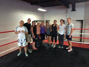 women's boxing classes Trabuco Canyon CA