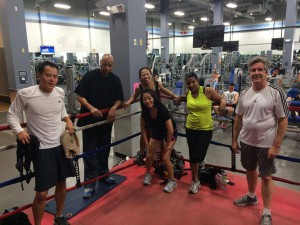 group boxing classes Orange County CA