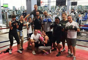 adult boxing classes