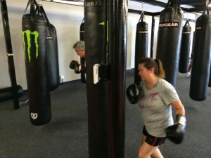adult boxing classes