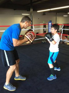 kids boxing Rancho Santa Margarita CA
