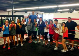 women's boxing classes Mission Viejo CA