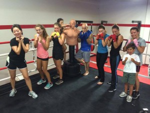 women's boxing classes Coto de Caza CA