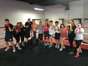women's boxing classes Rancho Santa Margarita CA