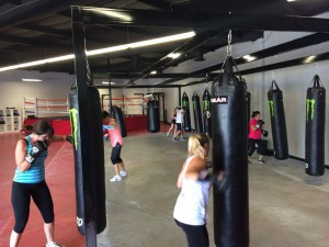ballard-fitness women's boxing classes Rancho Santa Margarita CA