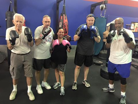 boxing for parkinsons